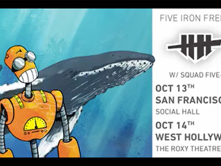 Five Iron Frenzy & Squad Five-O: Two Concerts in October