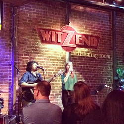 Had so much fun playing #witzend tonight with @jesserhodesmusic.jpg