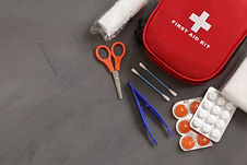 Avalanch first aid - image of medical first aid kit