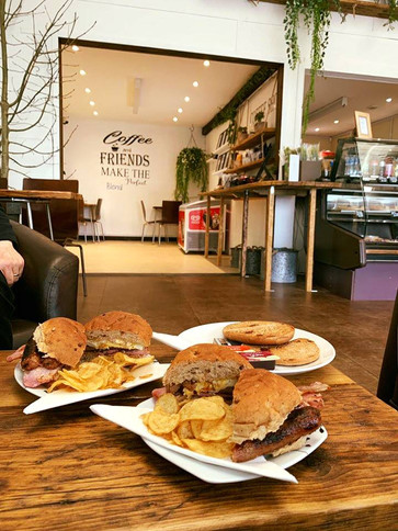 Our filled baps! Delicious with your choice of two fillings