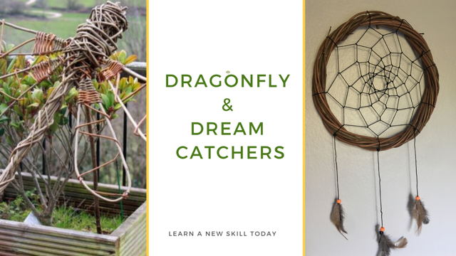 Dragonfly and Dreamcatcher Workshop