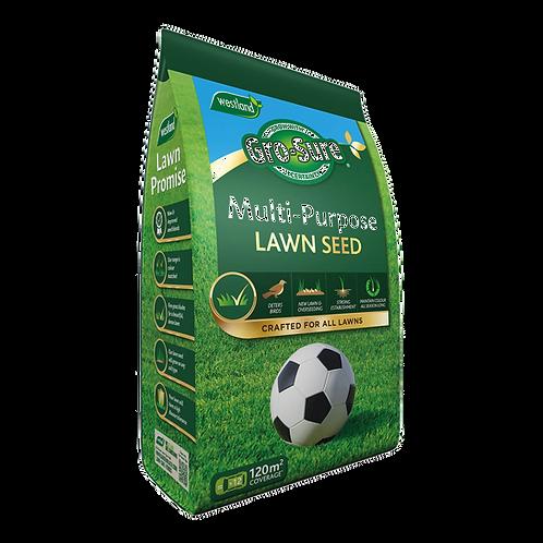 Gro-Sure Multi-Purpose Lawn Seed 120m2