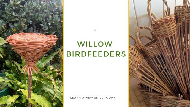 Willow Bird feeder Workshop