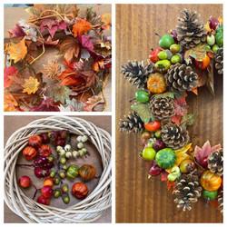 Autumn wreath class