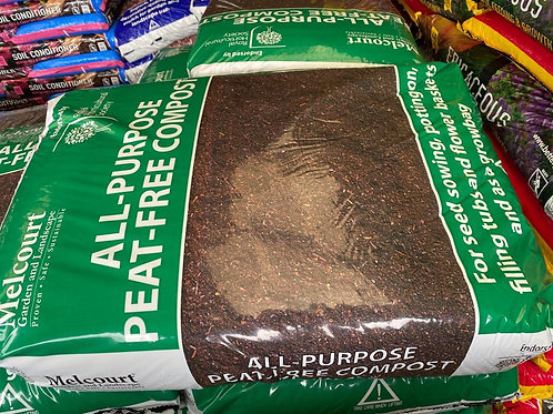 Melcourt all purpose peat free compost 50ltr