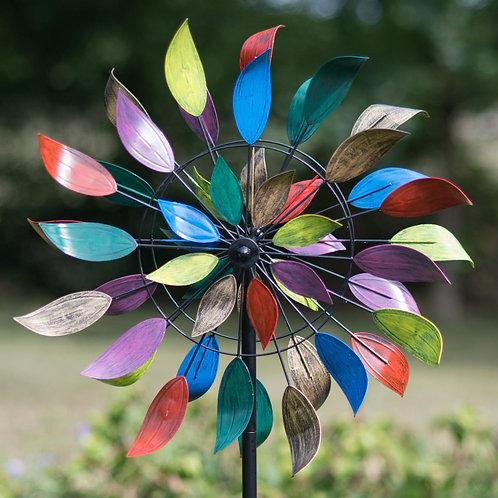 Creekwood - Dancing Leaves - Multicolour Wind Sculpture