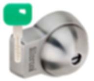 UFO+ lock and key