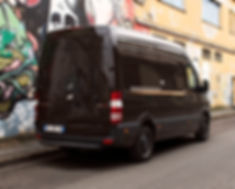 Mercedes Sprinter with UFO+ installd on rear and side doors
