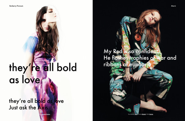 Yulia & Fay (@Ford) shot by Emma Picq for Modzik Magazine Editor-in-Chief: Nora Baldenweg