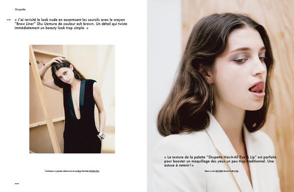 Shu Uemura Beauty Special shot by Thomas Paquet for Modzik Magazine Editor-in-Chief: Nora Baldenweg