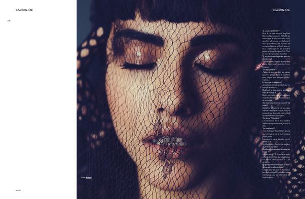 Charlotte OC shot by Rachel Rebibo for Modzik Magazine Editor-in-Chief: Nora Baldenweg