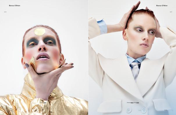 Bianca O'Brien shot by Markus Lambert for Modzik Editor-in-Chief: Nora Baldenweg