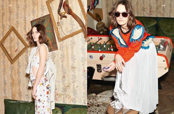 Yelle shot by Estelle Rancurel for Modzik Magazine Editor-in-Chief: Nora Baldenweg