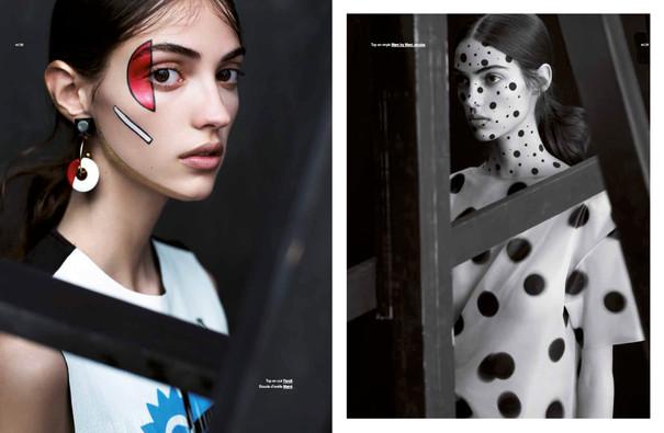 Camille Hurel shot by Alexandra Utzmann for Modzik Magazine Editor-in-Chief: Nora Baldenweg