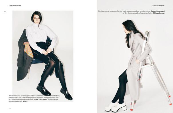 Serena Archetti shot by Antoine Harinthe for Modzik Magazine Editor-in-Chief: Nora Baldenweg