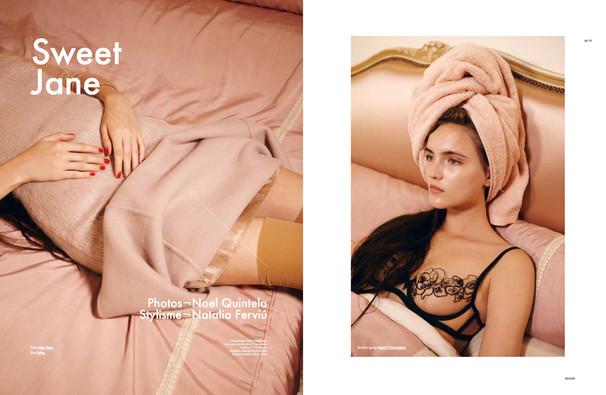 Jane (@Ford) shot by Noel Quintela for Modzik Magazine Editor-in-Chief: Nora Baldenweg