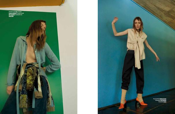 Kiki Willems shot by Gianni Pisano for Modzik Magazine Editor-in-Chief: Nora Baldenweg