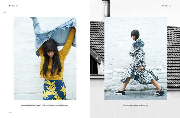 Kwamie Liv shot by Thomas Paquet for Modzik Magazine Editor-in-Chief: Nora Baldenweg