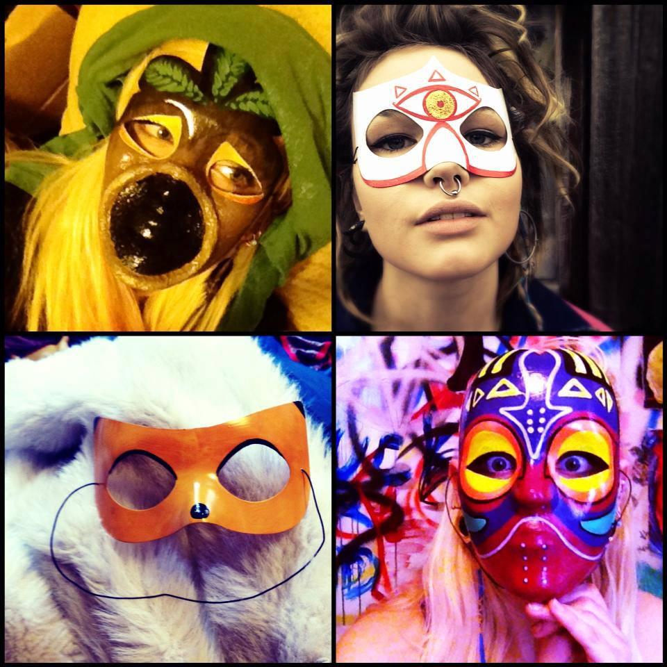 Assorted custom masks