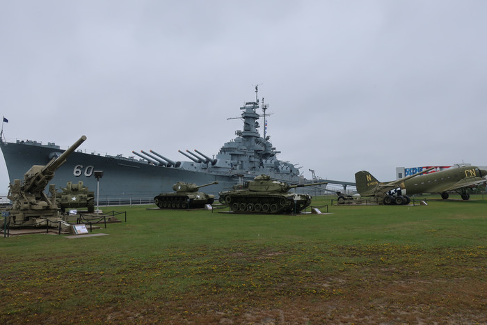 Day 56: USS Alabama and New Orleans