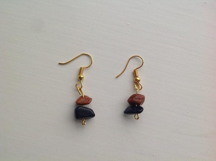 Red Night Earrings