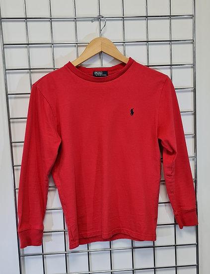 Polo Ralph Lauren Red Long Sleeve Top