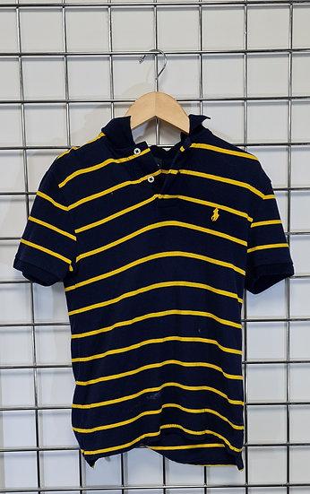 Polo Ralph Lauren Black and Yellow Polo Shirt