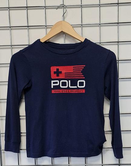 Polo Ralph Lauren Navy Long Sleeve Top