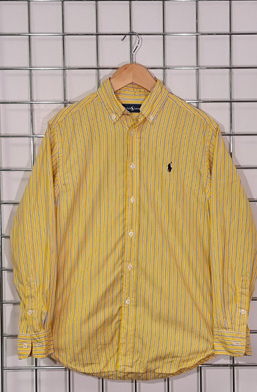 Ralph Lauren Yellow and Blue Shirt