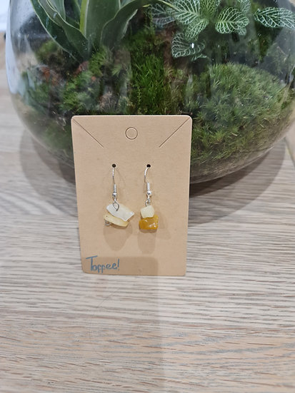 Toffee Dangly Earrings