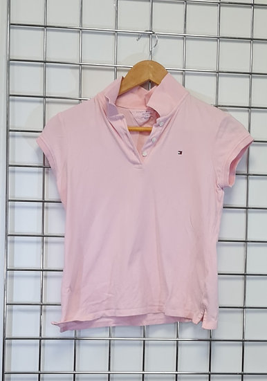 Tommy Hilfiger Pink Polo Shirt