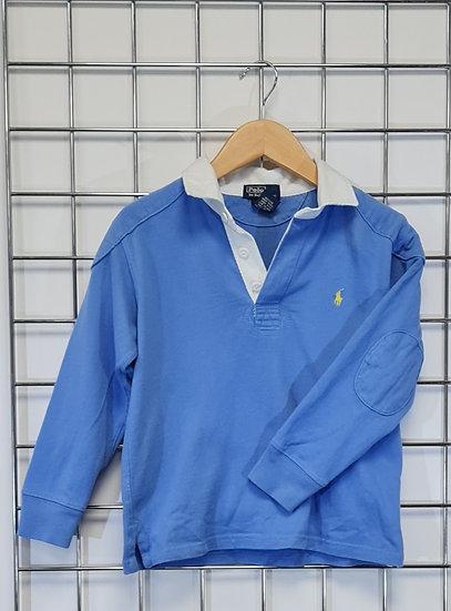 Polo Ralph Lauren Blue Rugby Shirt