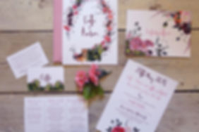 Pet themed wedding invitations