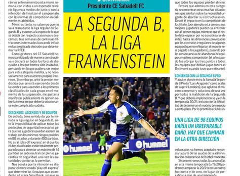La Segunda B, la liga Frankenstein
