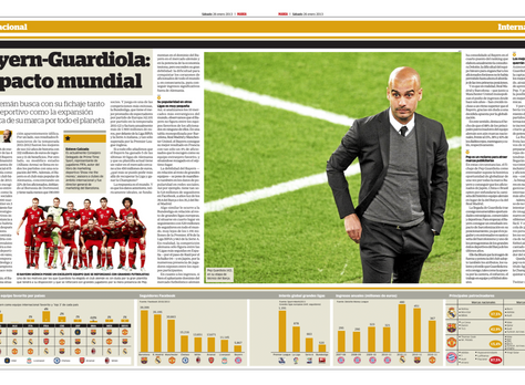 Bayern, conquering the world with Guardiola