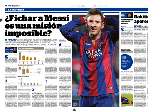 Signing Messi, mission impossible?