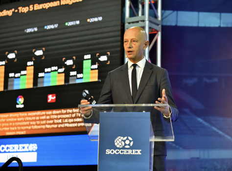 Football Transfer Review Americas Edition by Prime Time Sport presented at the Soccerex USA event in