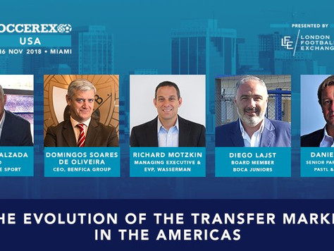 Special Americas Edition of the #FTR by Prime Time Sport out this November in the Soccerex USA event