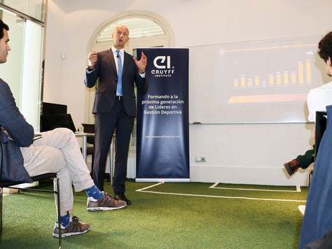 Football Transfer Review 2019 Winter Edition presented at the Johan Cruyff Institute