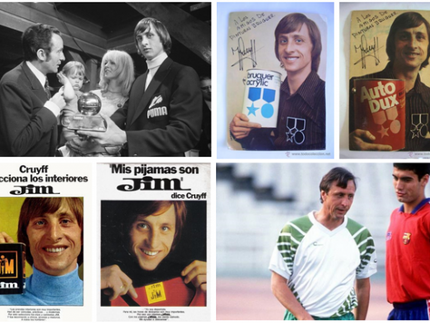 Cruyff, also a commercial beautiful mind