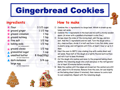 Shal's Cooking 【Gingerbread Cookies】