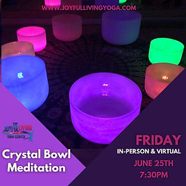 Crystal Bowl meditation, sound healing,