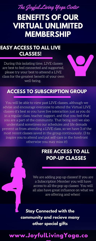 The Joyful Living Yoga Center - LIVE and