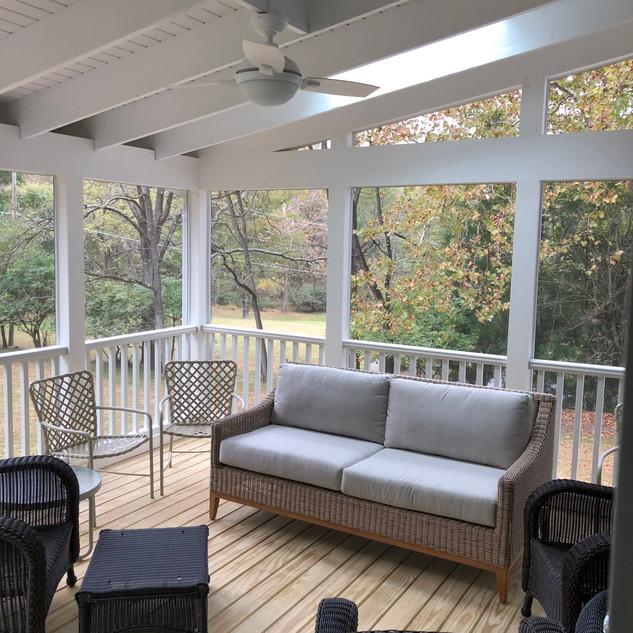 Ellen Calvin's Porch