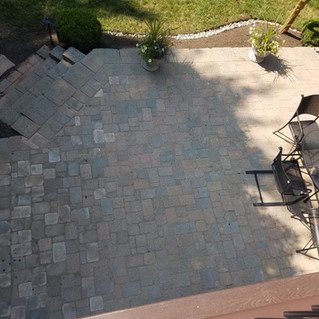 Finished Patio (top view)