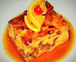 Food Old Fashion Bread Pudding (5)