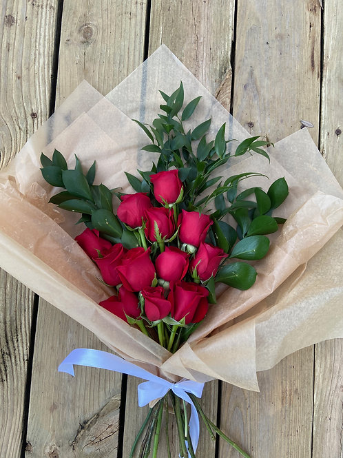 Valentine Dozen Bouquet