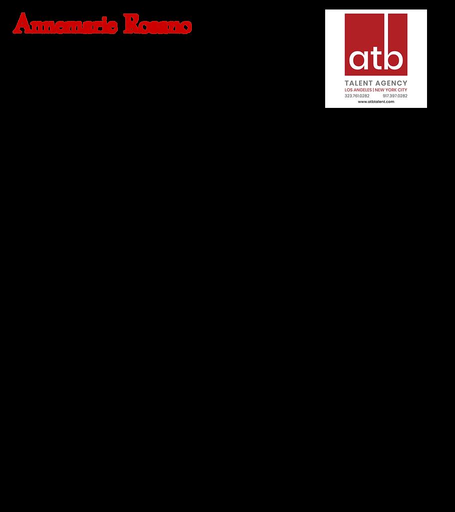 Annemarie Rosano, new ATB resume transpa