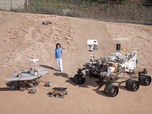 Brasileira projeta a próxima fase da missão da NASA a Marte