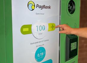 Troque seu Material Reciclável por Dinheiro no Caixa Eletrônico
